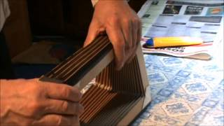 Diatonic Accordion: Bellows Taping
