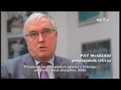 05 biciklizam.hr PILOT - Pat McQuaid, UCI, interview - 1. dio