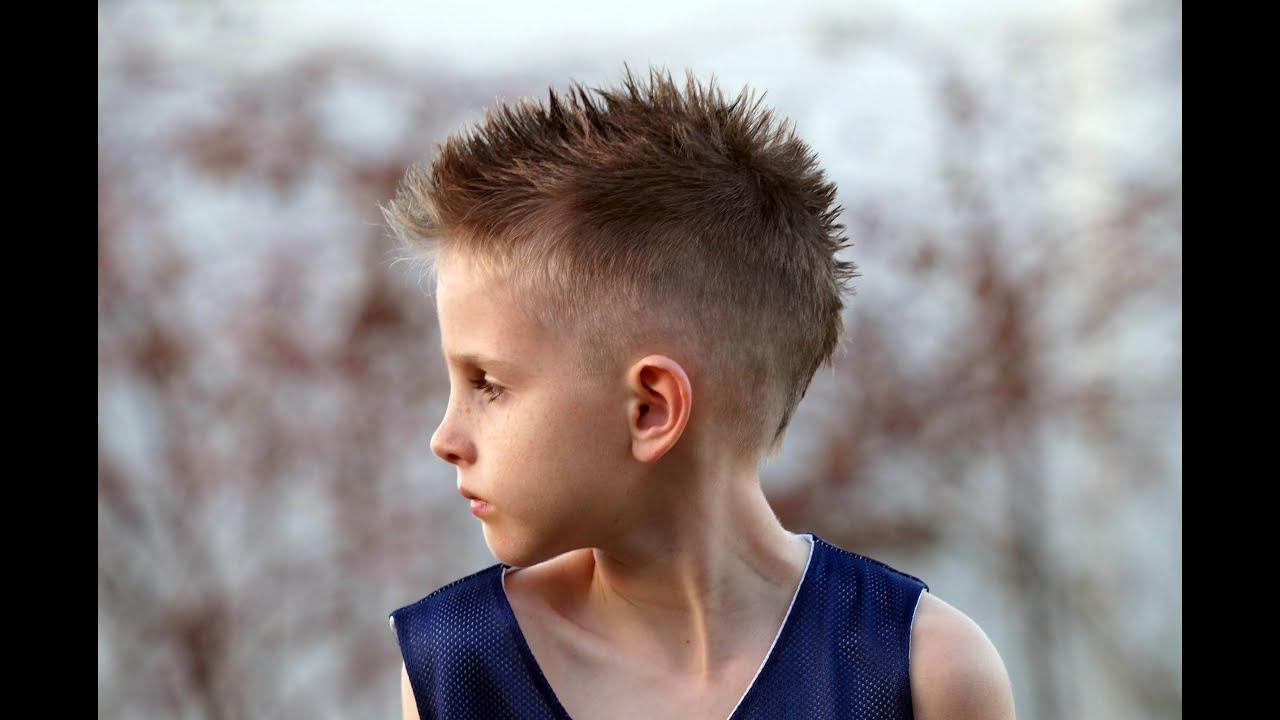 cut boy's mohawk fohawk