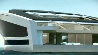 ☆ World s Biggest Super Yacht by Wally Boats   Hermes WHY   2013 New Car Review HD mp4
