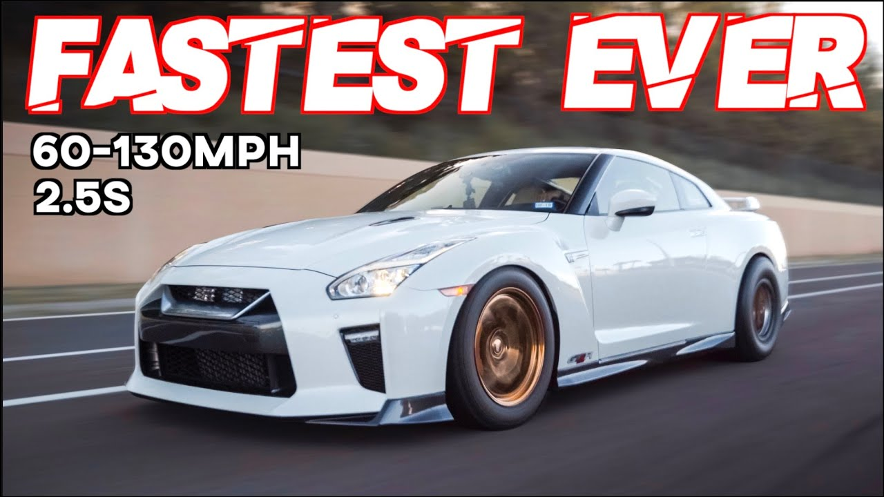 FASTEST Street Car Ever! 2200HP GTR 60-130MPH in 2.5s on the Street (MIND BLOWING ACCELERATION)