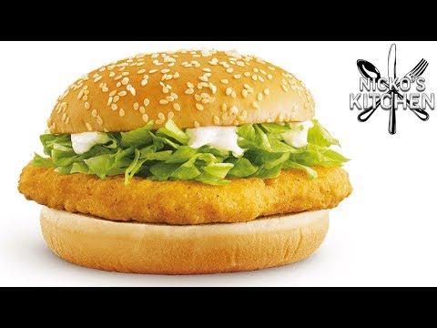 How To Make A McDonalds McChicken