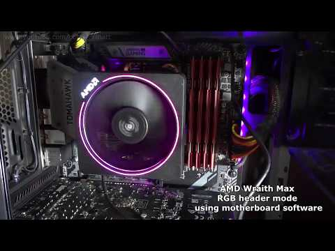 Amd Wraith Max Rgb Demonstration It S Not Wraith Prism Youtube
