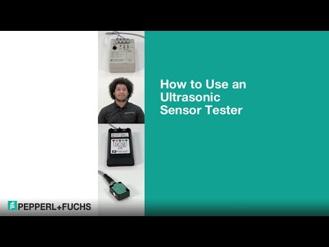 How to Use an Ultrasonic Sensor Tester