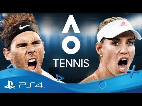 AO Tennis | Reveal Trailer | PS4