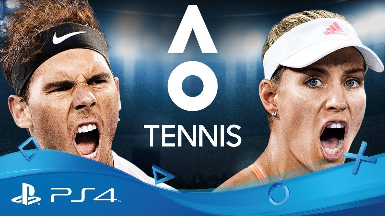 AO Tennis   Reveal Trailer   PS4