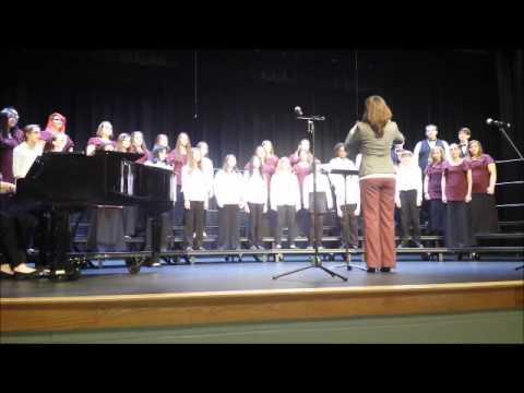 Pelion Middle School's spring choral concert v2
