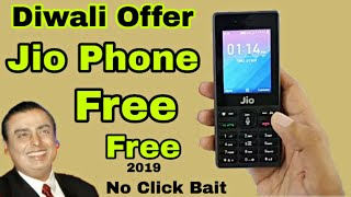 Diwali Offer | Jio Phone Free 2019 | Jiophone At Rs. 699 Only and Free Additional Data Worth Rs. 700
