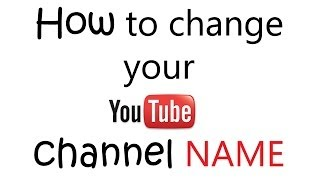 Video How to change youtube channel name (display name) NEW JAN 2014 easy & quick download MP3, 3GP, MP4, WEBM, AVI, FLV Maret 2018