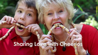 Sharing the Love with Cheerios