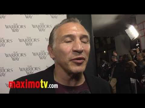 "Ray BOOM BOOM Mancini Interview at ""The Warrior's Way"" Los Angeles Screening"