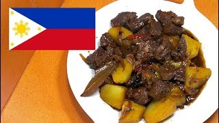 Spicy Beef Adobo - Beef Adobo - Filipino Recipes - Pinoy Food - Tagalog Videos