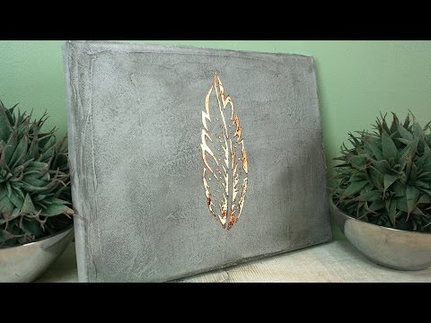 diy schale aus beton concrete krempelschale funnycat tv. Black Bedroom Furniture Sets. Home Design Ideas