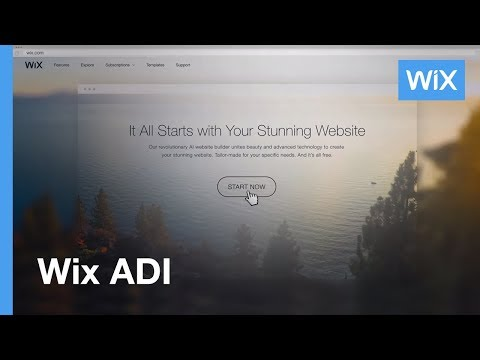 Wix ADI | Get a Stunning Website Created for You