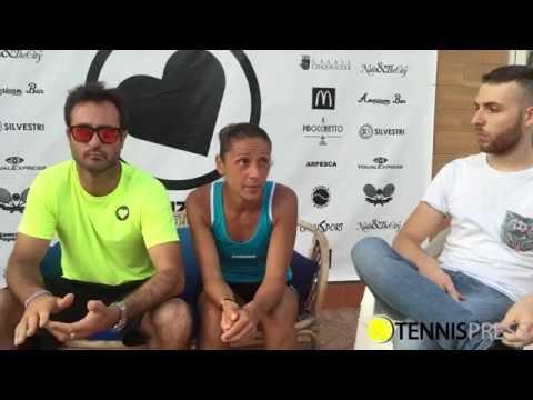 Top Lo.Ve Open: le parole della vincitrice Anna Floris e dell'organizzatore Andrea De Masi