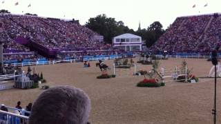 London 2012 Olympic Equestrian show jumping final Cian O