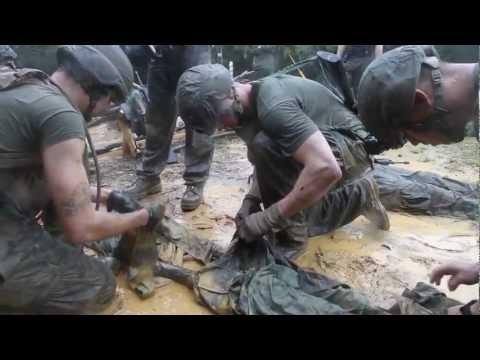 Marines complete 'Jungle Endurance Course' at JWTC (Camp Gonsalves, Okinawa)
