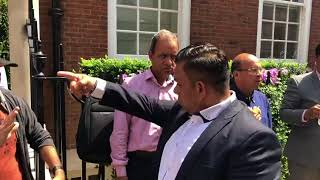 PTI and PMLN workers clash at Aievan field flats London