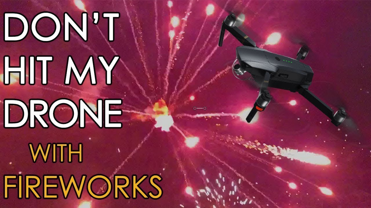 Fireworks Filmed With A Drone Miami Beach Shelter