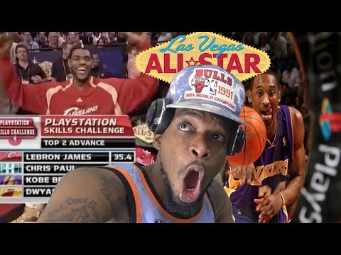 IF ONLY KOBE COULD PASS MAN! 2007 NBA SKILLS CHALLENGE REACTION! Mp3
