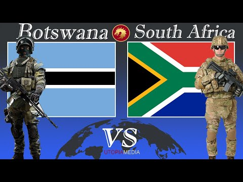 SOUTH AFRICA vs BOTSWANA military power comparison 2020