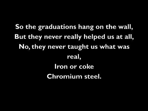 Billy Joel - Allentown w/lyrics