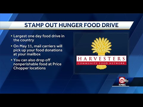 'Stamp out Hunger' drive planned for next week