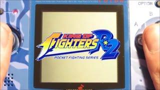 The King of Fighters R-2 - Partida completa comentada - (Dificultad Máxima) NeoGeo Pocket