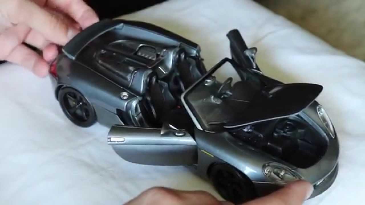 Review - Maisto 1:18 Scale Porsche Carrera GT - YouTube