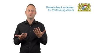 Bayerisches Landesamt für Verfassungsschutz: Unser Internetauftritt im Überblick