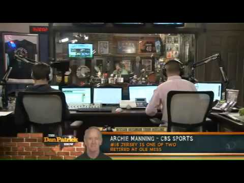 Archie Manning on The Dan Patrick Show 9.12.12