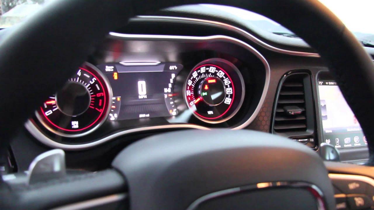2015 Dodge Challenger R T Scat Pack Interior Youtube