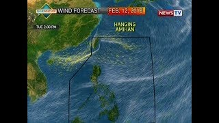 BT: Weather update as of 12:02 p.m. (February 11, 2019)
