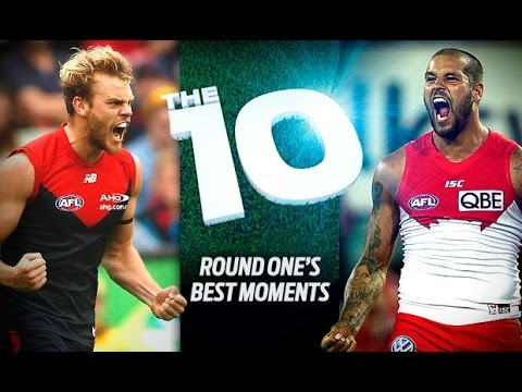 The 10 Round One - AFL