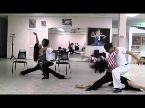 Ailinh Do, David Herrera, Jennifer Vaquiz, Da blaxican Essegro PRACTICE Summer Latin Dance 2011