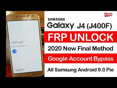 Samsung Galaxy J4 (j400f) Frp Unlock Google Account Bypass Android 9 Pie...