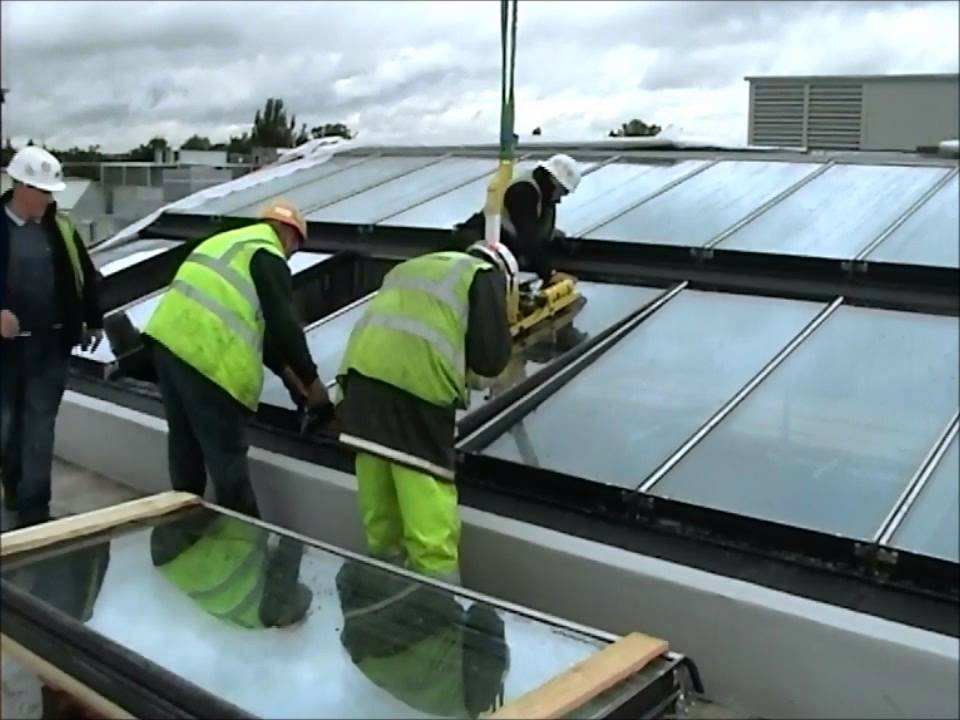 Installation Of VITRAL VRS Stainless Steel Roof Lights   YouTube