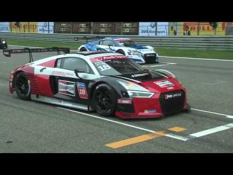 Round 1 - Full Race from the Shanghai International Circuit   Audi R8 LMS Cup 2016