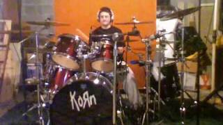 Me Playing KoRn - Beg For Me On The Drums
