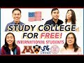 ✏️How to Study Abroad at US Colleges for INTERNATIONAL STUDENTS 2019! (Financial Aid) | Katie Tracy