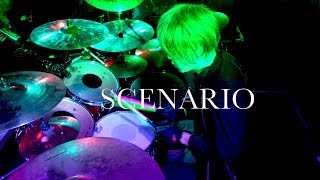 「SCENARIO」ドラム定点カメラ