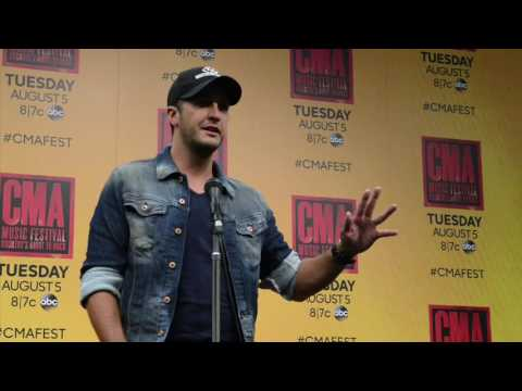 Luke Bryan on getting grabbed by fans at CMA Fest
