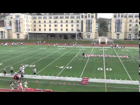 Carnegie Mellon Wing T RB Drills - YouTube