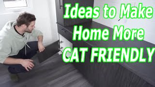 Tiny House Features Cat Friendly Decorating CATS & KITTENS pets video