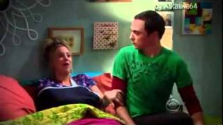 Penny y Sheldon suave Kitty  Audio Latino (The Big Bang Theory)