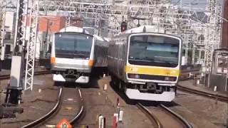 JR中央・総武線各駅停車E231系0番台VVVF更新車 吉祥寺駅発車