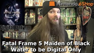 Fatal Frame 5 Maiden of Black Water to be Digital Only