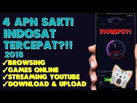 Mantap!! 4 APN Sakti INDOSAT Tercepat 2018 | Support All TKP!!!