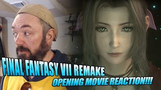 Final Fantasy VII Remake | Opening Movie Reaction and Analysis!