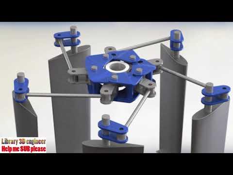 31. Voith-Schneider Full Size Kinematics || free download 3D model